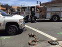 Accident Reconstruction, Pickup vs Bike, Downtown Sonora, June 5, 2017