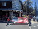 Flag Day June 14, 2017, outside Caldwell Insurance, Indian Rock Center