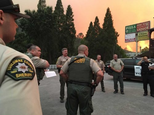 Tuolumne County Sheriff's Office Lends Support In Mariposa County for Detwiler Fire
