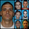 Arrestees in Aug 30 2017 TCSO drug bust of 14