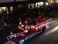The Sonora city sponsored Historic Sonora Christmas Parade