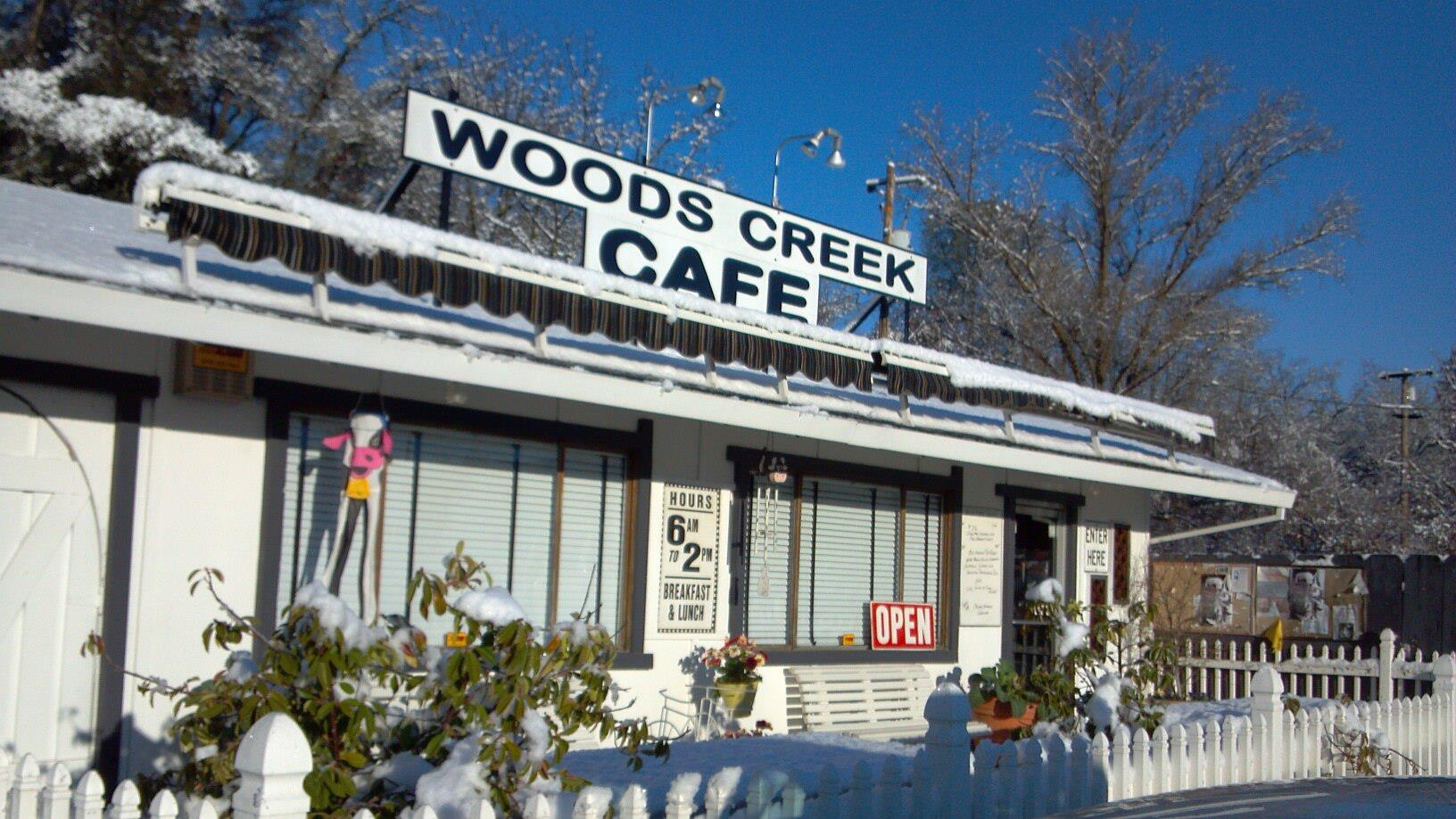 Woods Creek Cafe in Jamestown