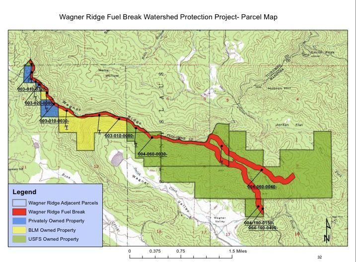 Wagner Ridge Fuel Break