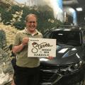 Mark Truppner Winner of Chicken Ranch Casino 2018 Summer Equnox Giveaway with Steves Chevrolet Buick of Oakdale