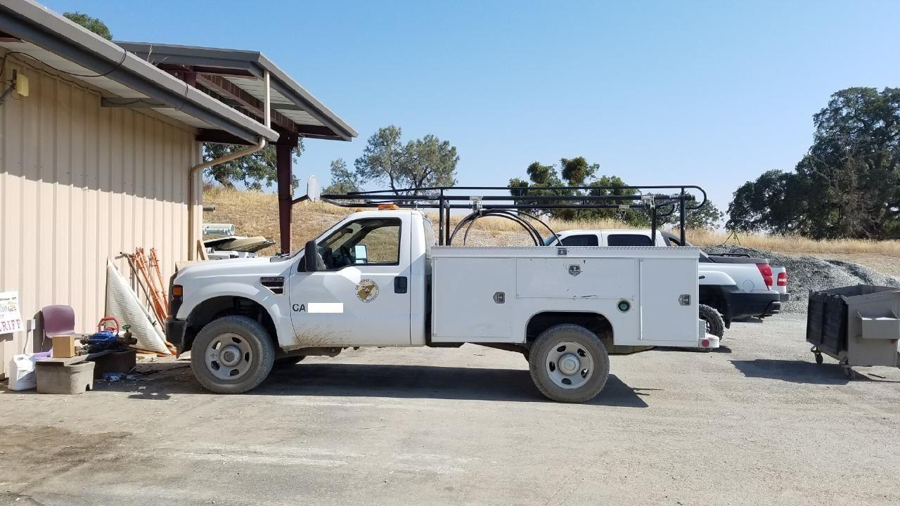 Sheriff Asks Public's Help In Finding Stolen CCWD Truck