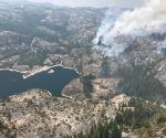 Donnell Fire In Stanislaus National Forest
