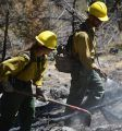 Working in the Donnell Fire area