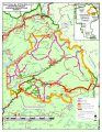Donnell Fire Forest Closure Map