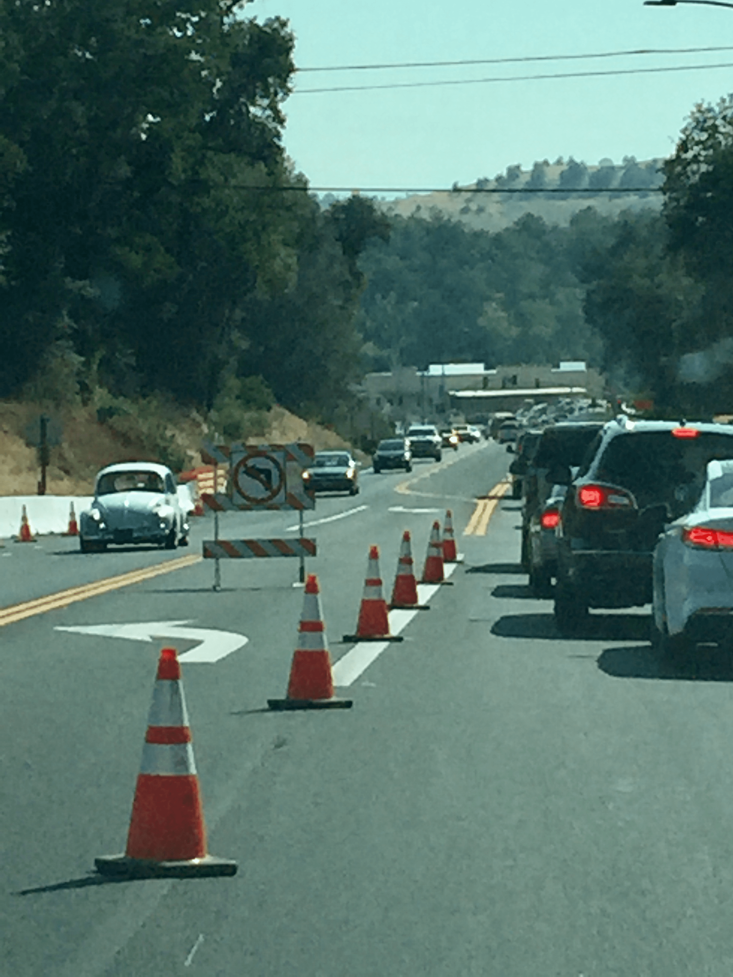 Road Work In September on Highways 108, 120, 49 And 4