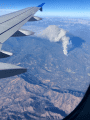 Oak Fire from the air
