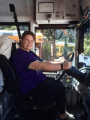 Sonora Union High School District Bus Driver Janette Elsey