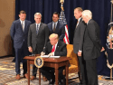 President Trump signs Executive Action on Western Water Oct 19 2018