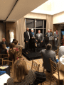 Sac-Joaquin Hall of Fame ceremony Oct 21 2018 Rich Cathcart second from left