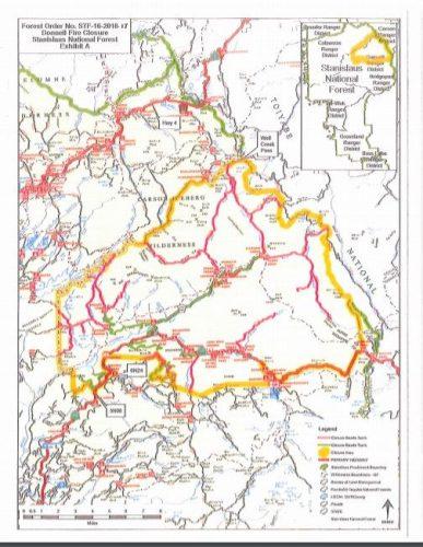 Donnells Fire Map.Mymotherlode Com