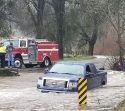 Truck Flooded In Amador County