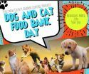 Dog and Cat Food Bank Day flyer