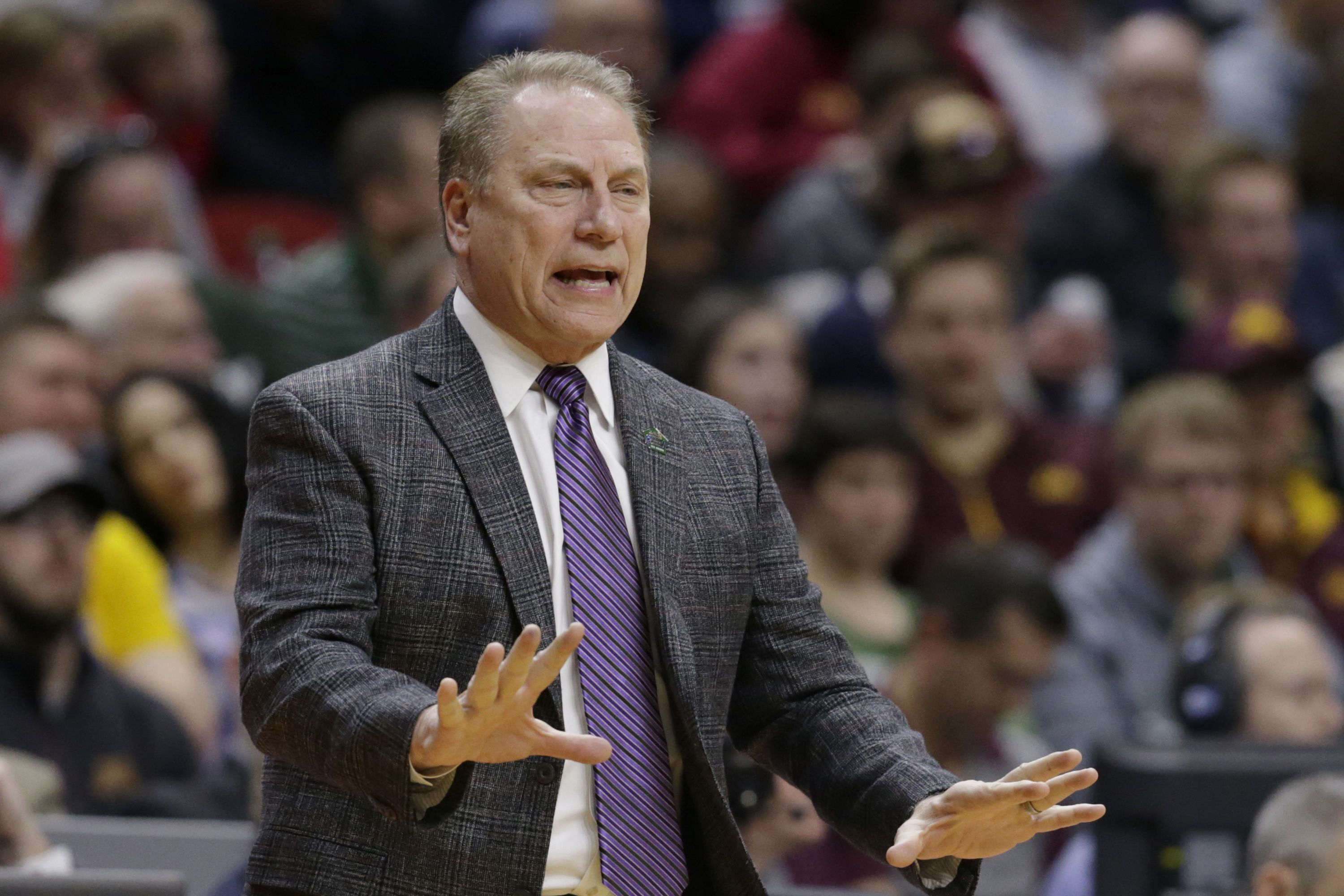 Tom Izzo goes unhinged on freshman
