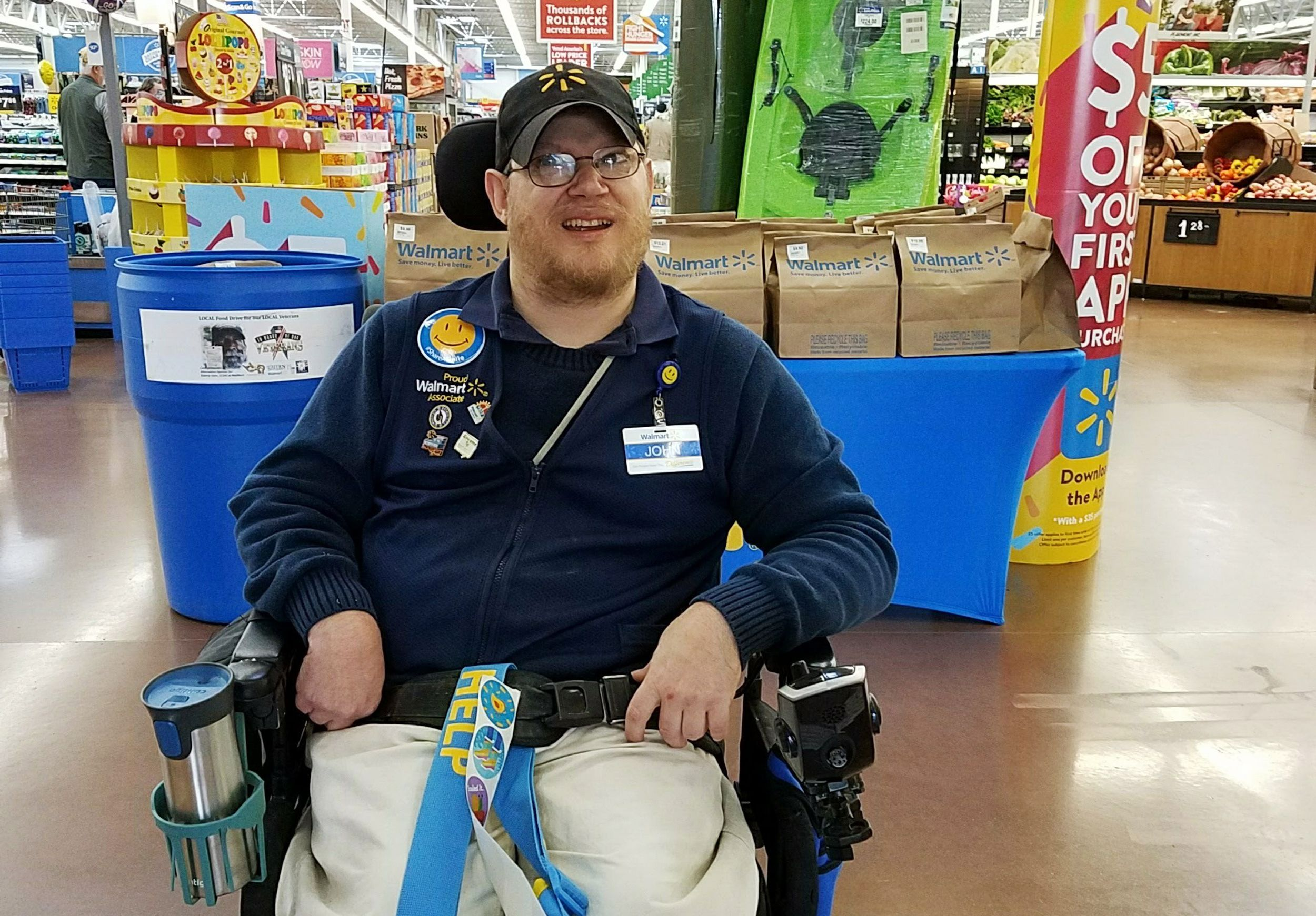 Walmart offers different job to Vancouver's John Combs