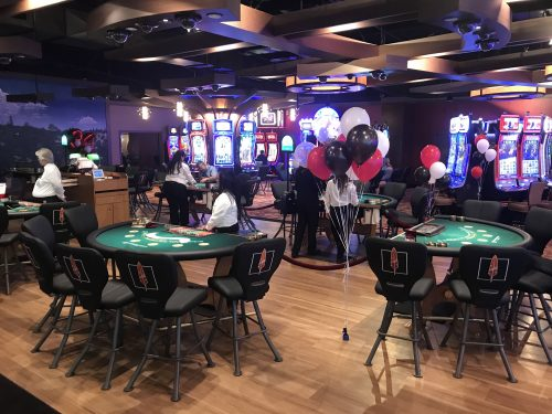 Chicken Ranch Casino Expansion Ribbon Cutting