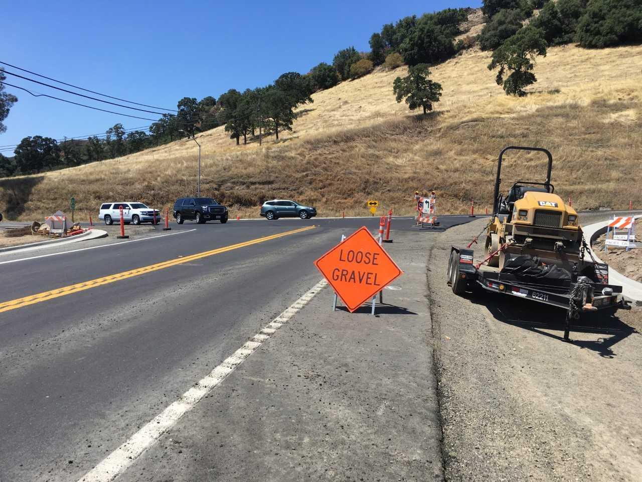 Highway Road Work In August | myMotherLode com