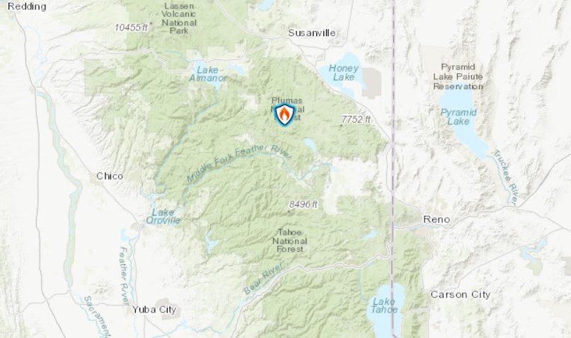 Walker Fire Explodes In Northern California | myMotherLode com