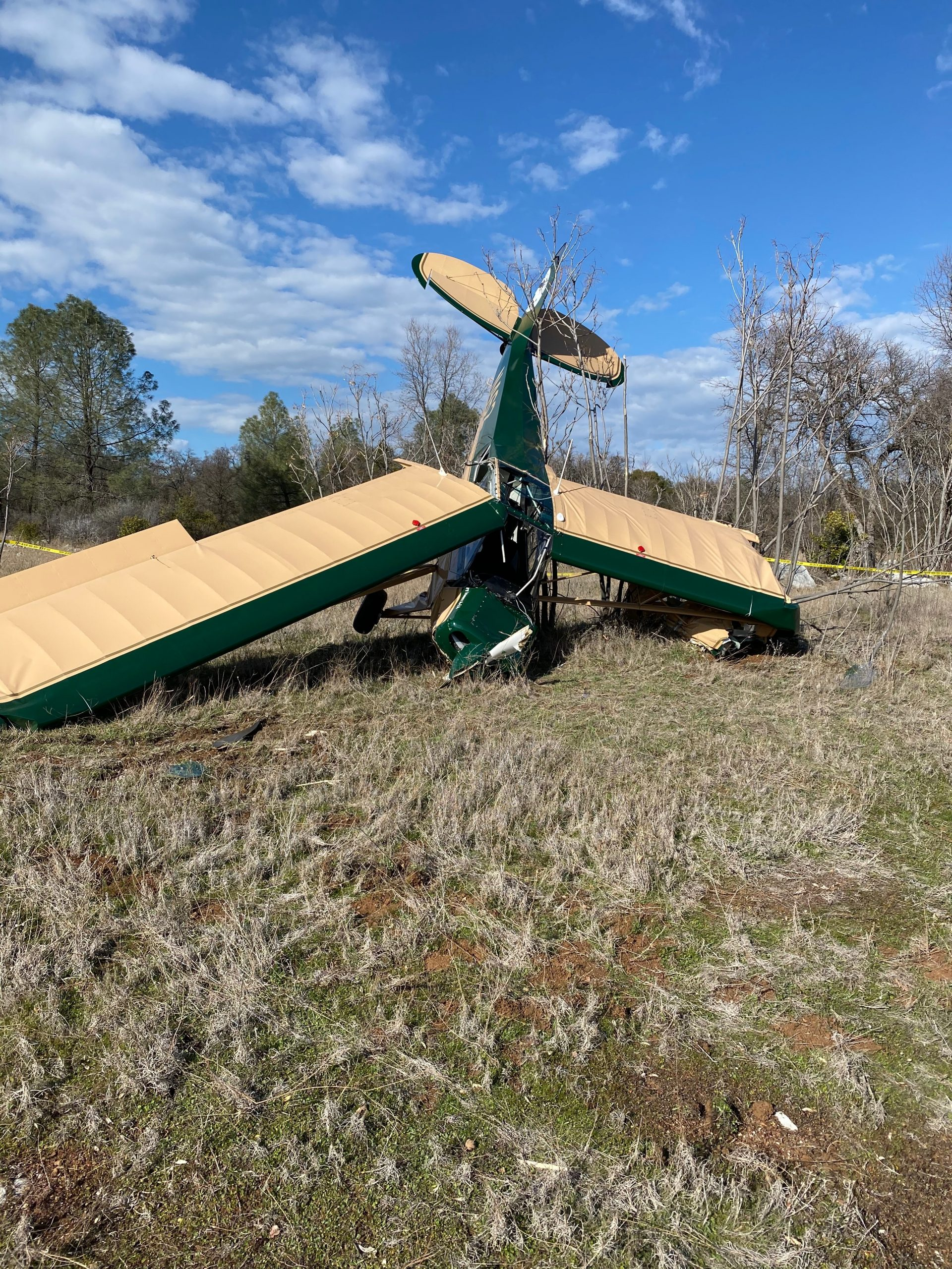 Update: Second Plane Crash At Columbia Airport This Month | myMotherLode.com