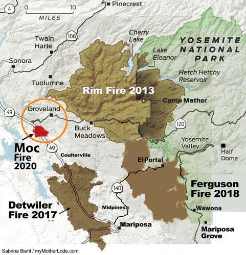 Fire Map Moc Fire plus Rim, Ferguson, and Detwiler