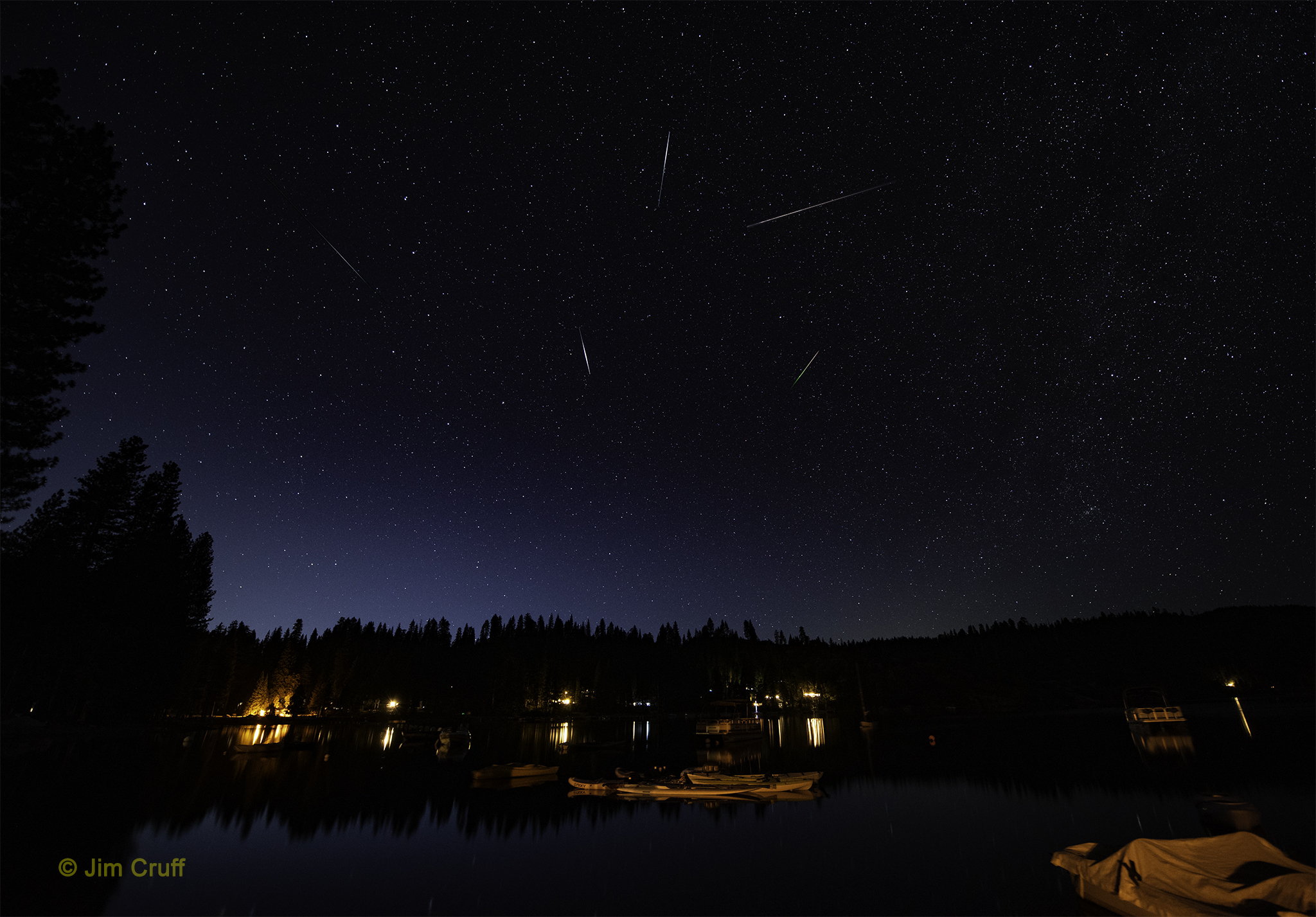 Perseid Meteor Shower Reaches Peak Starting Tonight
