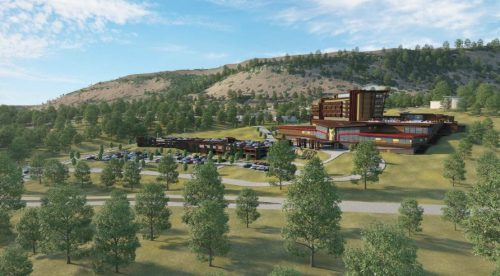 Concept Drawing of the Proposed New Chicken Ranch Casino Resort