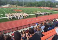 2016 Band Review at Summerville High School