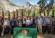 Yosemite National Park Sister Park agreement signing