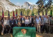 Yosemite National Park Sister Park agreement signing