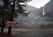 Heavy Rain In Yosemite